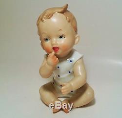 20 Vtg Bébé Figurine Statue Japon Allemand Porcelaine Céramique Kewpie Poupée Jouet Art