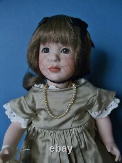 2003 Wendy Lawton Gabrielle Et Son Greiner 14 Doll #101/250 Mib Avec Coa