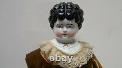 23 Antique Ruth Hertwig Allemand Porcelaine Chine Tête Coth Doll Body