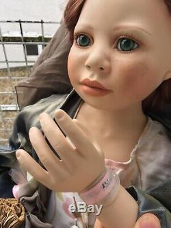 40charming Christine Orange Porcelaine Poupée Amy Limitée # 65 La Vie Comme