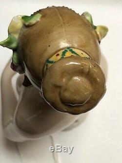 5 Porcelaine Allemande Antique Moitié 1/2 Poupée Goebel Austmin Danseur Elssier #se