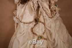 50 Vintage Canard Maison Heirloom Doll Vintage 5000 Limitée Robe Victorienne