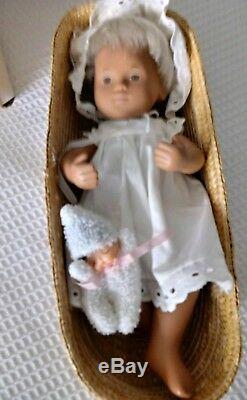 502 Poupée Sasha Robe D'été Robe De Mariée Cheveux Vintage