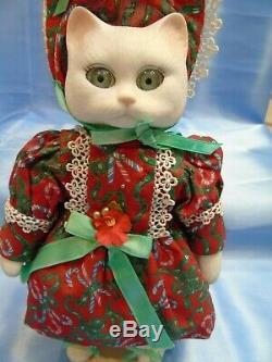 6 Vintage 1994 Goebel Special Edition Cat Dolls Betty Jane Carter Bette Balle