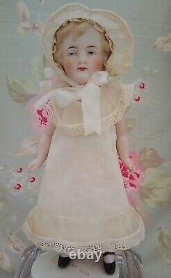 8 Gorgeous Antique German Edwardian Era Porcelain Bisque Doll Price Reduced