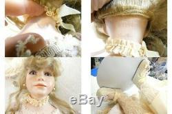 A21 Vintage Thelma Resch Robe De Poupée Rose En Porcelaine De Nancy Femme Nancy 30 Gwp
