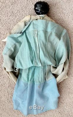Anciennes Victorienne Beauté Porcelaine Chine Doll & Clothes / Guerre Civile Ère