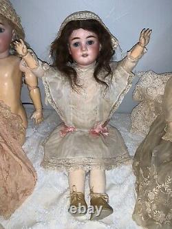 Antique 22 Tête De Porcelaine Compostion Body Special Germany Doll