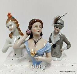 Antique Dressel & Kister Porcelaine Moitié Poupée, Collection Antique Doll