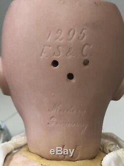 Antique Franz Schmidt 19 Porcelain Baby Doll Body Composition
