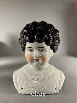 Antique Grande Taille Porcelaine China Doll Head Dorothy Allemagne