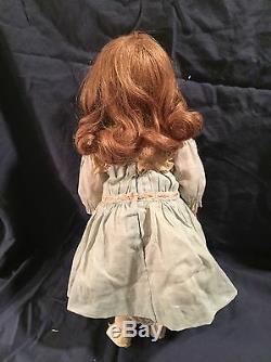 Antique Handwerck Porcelaine Bisque 15 Moule Doll 109