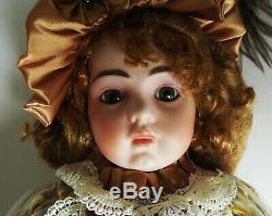 Antique Jne 13 Bru Reproduction Porcelain Doll Barbara Ota 22 Lindsey Nouveau