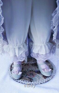 Antique Jne 28 Bru Reproduction Dans Shandella Porcelain Doll Patricia Loveless