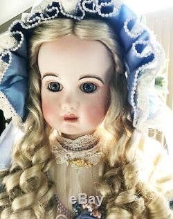 Antique Reproduction Anna Jumeau Tete Porcelaine Doll Patricia Loveless Nrfb
