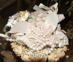 Antique Reproduction Australienne Grenier Poupée Linda Carroll Monique Porcelaine Nrfb