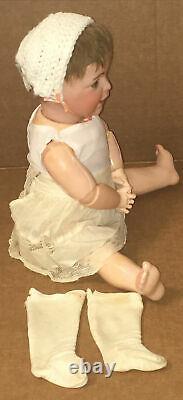 Antique Sfbj Bisque Porcelain Doll Paris France Jumeau Paris Vintage Français Bebe