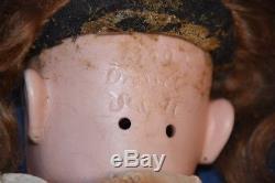 Antiquité Dressel Simon & Halbig # 1349, Porcelaine, Poupée Vintage Allemande