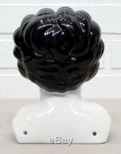 Antiquité Vintage Victorian Porcelain Beauty Large China Doll Head / CIVIL War Era