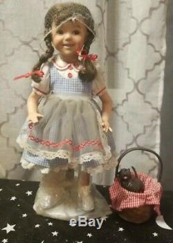 Ashton Drake Vintage Wizard Of Oz Dorothy Rare 13 Porcelain Doll