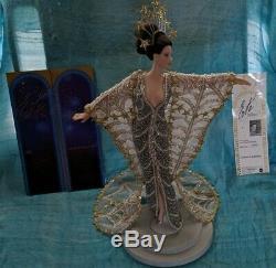Barbie Erte Stardust Vintage Porcelain Doll Art Limited Edition 1er Série Withbox