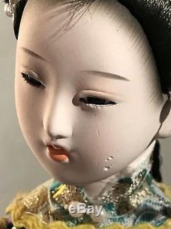 Beaux Poupées En Porcelaine De Japonais Vintage