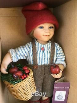 Birgitte Frigast Denmark Doll Pelle 10 Lnib Avec Certificat Vintage Danish