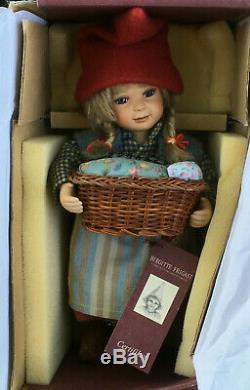 Birgitte Frigast Denmark Doll Rikke Avec Certificat 10 Lnib Vintage Danoise