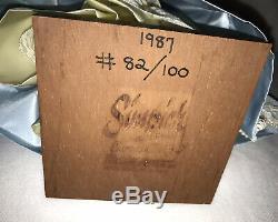 Caractère Simpich Poupées Cendrillon Bleu Robe En Satin 12 Htf Rare 1987 # 82/100