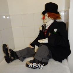 Clown Poupée Arthur Ltd 95/500 Créée Par Gill & Scott Harris