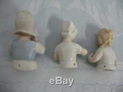 Collection De 19 Poupées De Porcelaine Vintage / Antique, La Plupart Allemand