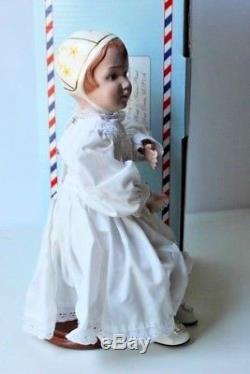 Concepts Collectible 14 Poupée En Bois Rare Schoenhut Girl Nib Vintage Large
