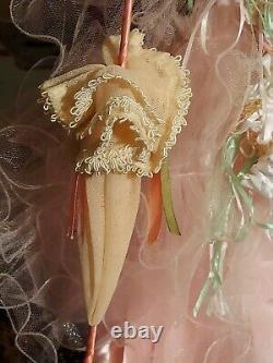 Court Of Dolls 26 Pink Antique Victorian Jumeau Reproduction Porcelain Doll