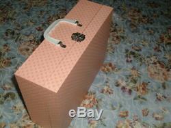 Danbury Vintage Mint Porcelaine Tiny Tears Doll Complète Suitcase