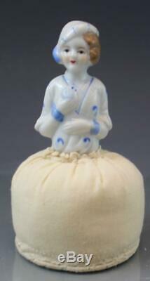 Demi-coussins À Broche Vintage En Porcelaine, Collection 7, Allemands Et Japonais