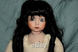 Dianna Effner Doll 1991 Bisque Withsoft Torse Artiste Peint Vintage # 1 Fait 1de