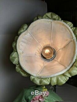 Diantha 21 Canard Rare Vintage Maison Heirloom Porcelaine Poupée Lampe Fée