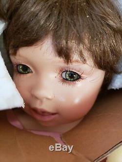 Doll Vintage Gloria En Porcelaine Vanderbilt Gloria À L'âge D'un An Nn Lot 184