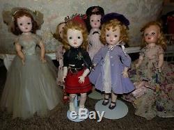 Énorme Collection De Poupées Antique Vintage Modern Composition Bisque Cissy Barbie Toni