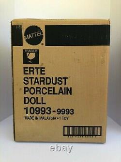Erte Stardust Barbie 1er De La Série Limited Edition Porcelain Doll Mattel 10993