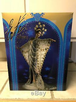 Erte Stardust Vintage Barbie Porcelaine Art Poupée Edition Limitée 1ère Série