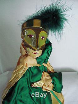 Espagne Vintage Marionette Art Poupée Puppet Pulliciniello Pulcinella Zanni 23