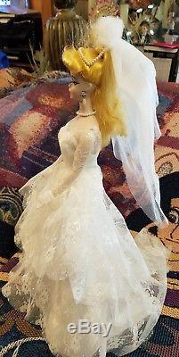 Fête De Mariage En Porcelaine Vintage 1959 Barbi