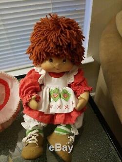 Fraisinette 2006 Marie Osmond Enfant En Bas Âge Porcelaine 10 Seated Doll