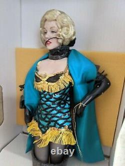 Franklin Héritage Marilyn Monroe Robe Verte Nouvelle Poupée De Porcelaine Vintage