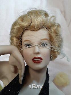 Franklin Mint En Porcelaine Marilyn Monroe Éternellement Marilyn / Non
