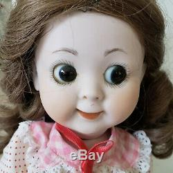 Googly Yeux Doll Artiste Poupée Tous Bisque Porcelaine Le Poupée Jointed Vintage Doll