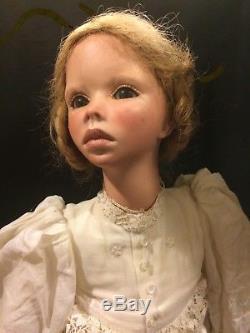 Grossle Schmidt Vintage Peinture Porcelaine Laura 1 Sur 10 $ 950.00