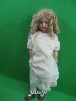 K & R Simon Halbig Doll Ouvrez La Bouche Des Dents Articulé Bisque 403 Allemagne