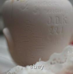 Kestner Bisque Porcelaine Poupée Googly Jdk Yeux 221 Fabriqué En Allemagne Angelina